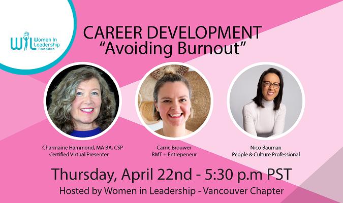 April 22- Career Development - Avoiding