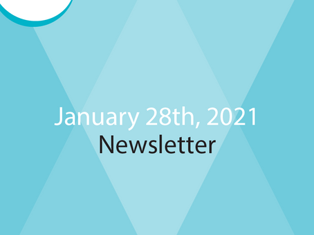 January 28th Newsletter - Read All About It!
