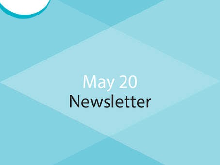 E-Newsletter for May 20 - Interview With Jenny Dho, Cooking For A Cause, Recommended Article
