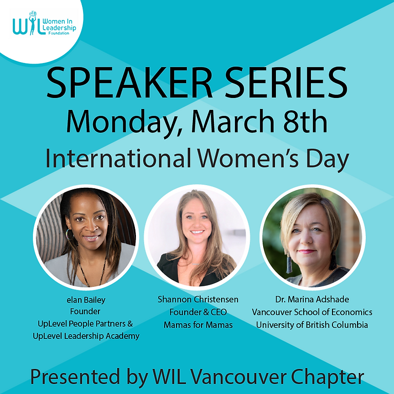 Speaker Series:  International Women's Day