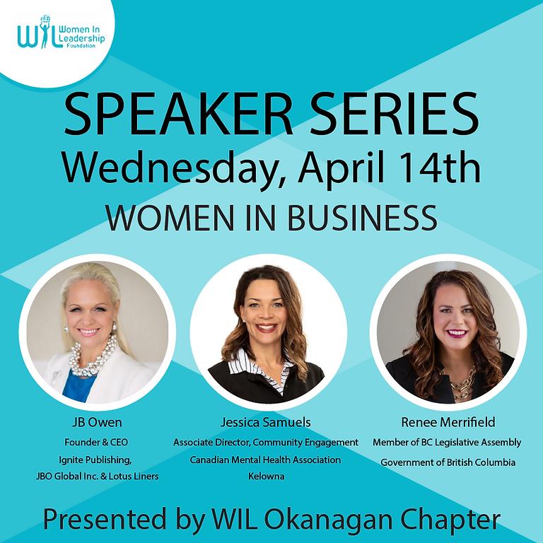 Speaker Series:  Women in Business