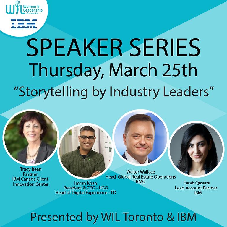 "Speaker Series:  ""Storytelling by IBM and WIL – Unconscious Biases"""