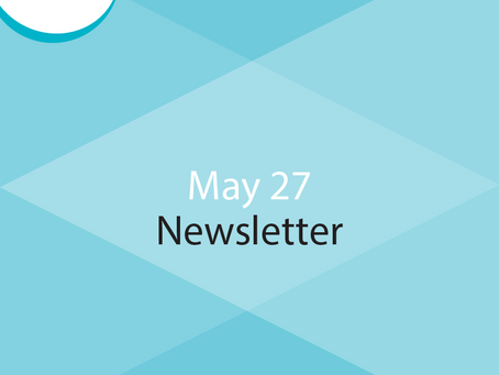 E-Newsletter for May 27 - Countdown to Diversity & Inclusion Leadership Forum & Community Support