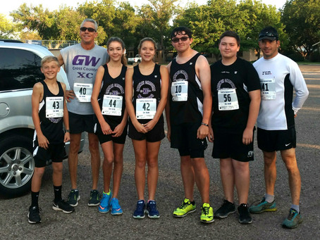 GCS XC team sets the 2017 Pace