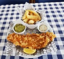 Award winning fish and chips