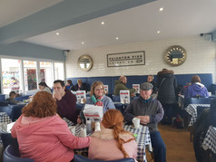 Fish and chips at Paignton Pier Chippy