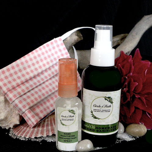 Essentials Sanitizing Protection Kit