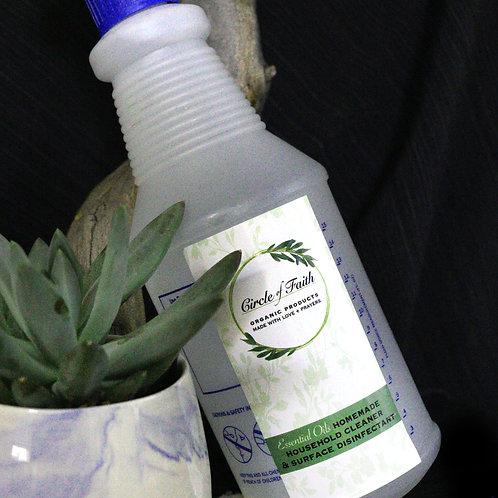 Household Cleaner & Surface Disinfectant Spray Bottle