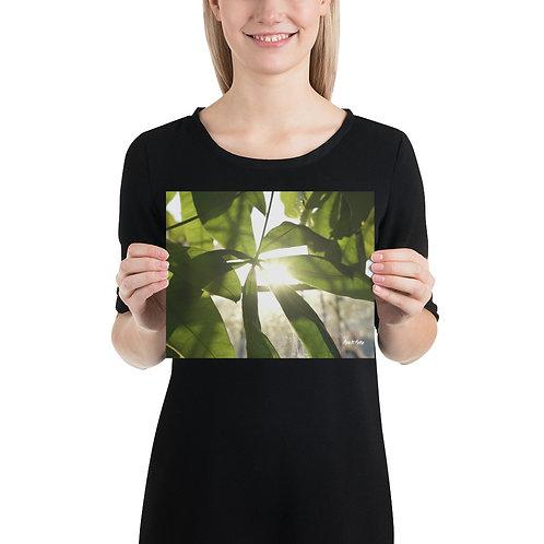 "Milk It Media ""Leaf Me Alone"" Photo paper poster"