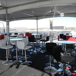 observation deck at event showing modern furniture