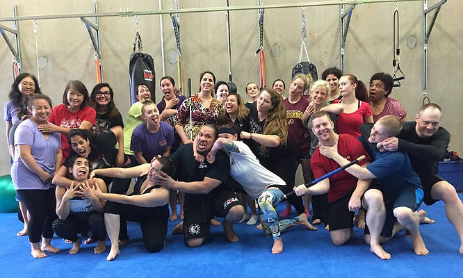 women's self defense seminar class herndon chantilly soutgh riding va nova