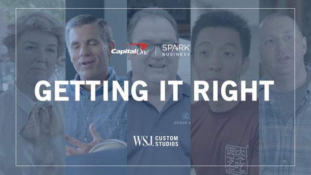 Capital One - Getting It Right
