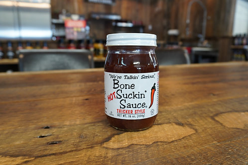 Bone Suckin Sauce - Hot BBQ Sauce Thicker Style - 16oz