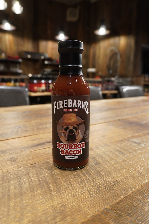 Firebarns - Sauce BBQ Bourbon Bacon - 350ml