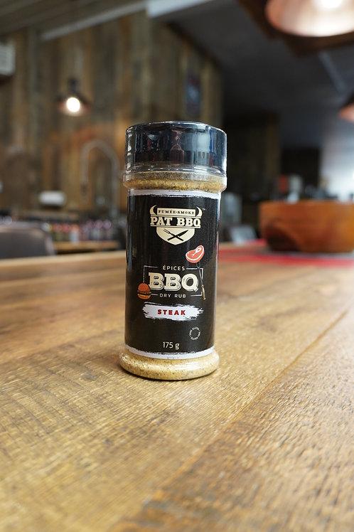 Pat BBQ - Épices Steak - 175G