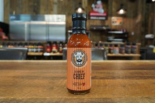 La Sauce du Chief - BBQ Douce et Fumée - Bière - 345ml