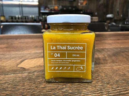 Le Lunch Box - No 04 - La Thaï Sucrée - Sauce Piquante  - 250ml