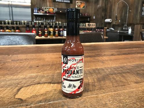 Morille Québec - Sauvage - Sauce Piquante - 148ml