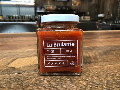 Le Lunch Box - No 01 - La Brulante - Sauce Piquante - 250ml