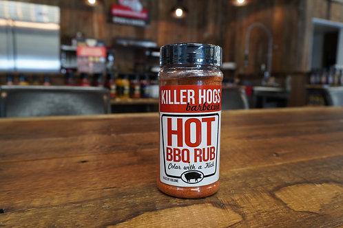 Killer Hogs - Hot BBQ Rub - 16oz