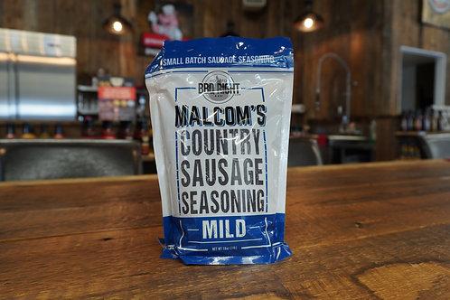 Malcom's - Country Sausage Seasoning Mild - 16oz