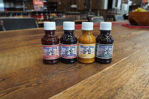 Blues Hog - Original - Smokey - Honey & Mustard - Red Tennessee - 4 fois 4oz