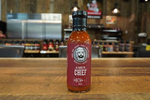 La Sauce du Chief - BBQ Nordique - Bière - 345ml