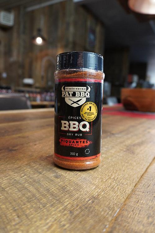 Pat BBQ - Épices piquantes - 350G