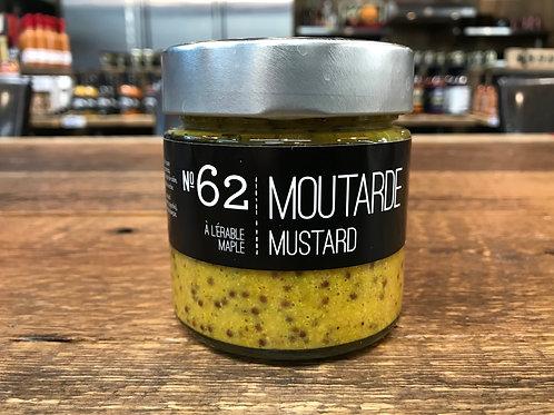 La Conserverie - No 62 - Moutarde à l'Érable - 212ml