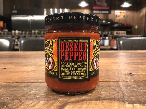 Desert Pepper - Salsa - Tomate rôtie Chipotle et Maïs - 473ml