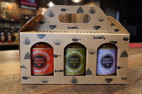 Chuck Hughes - Cadeau 3 pots doux - 3 x 375ml