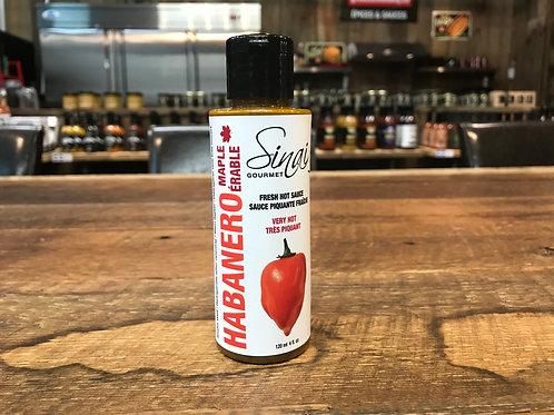 Sinai Gourmet - Habanero Érable - Sauce Piquante - 120ml