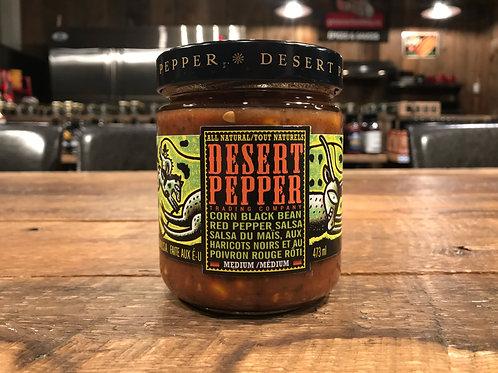 Desert Pepper - Salsa - Maïs Haricots Noirs Poivron Rouge Roti - 473ml