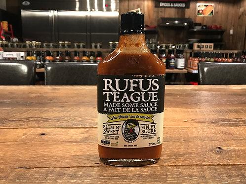 Rufus Teague - Fin et Sucré - Sauce BBQ - 375ml