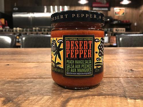 Desert Pepper - Salsa - Pêches Mangues  - 473ml