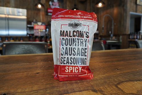 Malcom's - Country Sausage Seasoning Spicy - 16oz