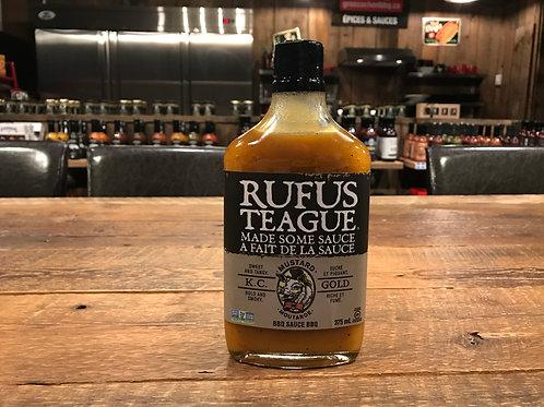 Rufus Teague - Sucré et piquante Gold - Sauce BBQ Moutarde - 375ml