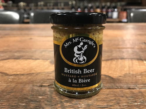 Mrs.McGarrigle's - Moutarde - À La Bière Anglaise - 60ml