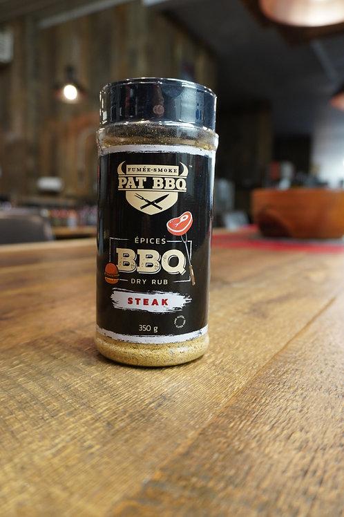 Pat BBQ - Épices Steak - 350G