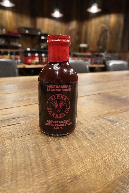 Alpha Barbecue - Sauce BBQ Réserve du chef - 350ml