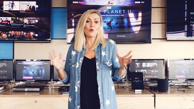 Nikki Presents a BBC film on UHD Video