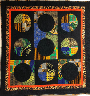 "st Place — ""The African Sun"" by Janice Daniel"