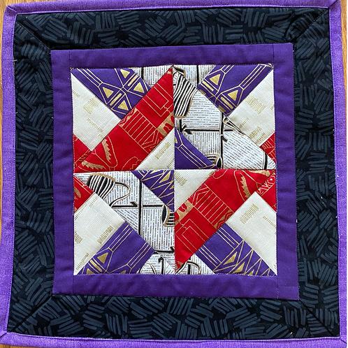 Royalty, 14xx14 inch art quilt