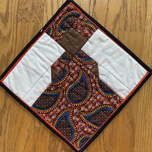 My African Queen #2 mini quilt