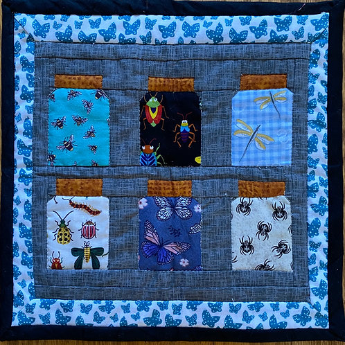 Bug Jar Mini Quilt