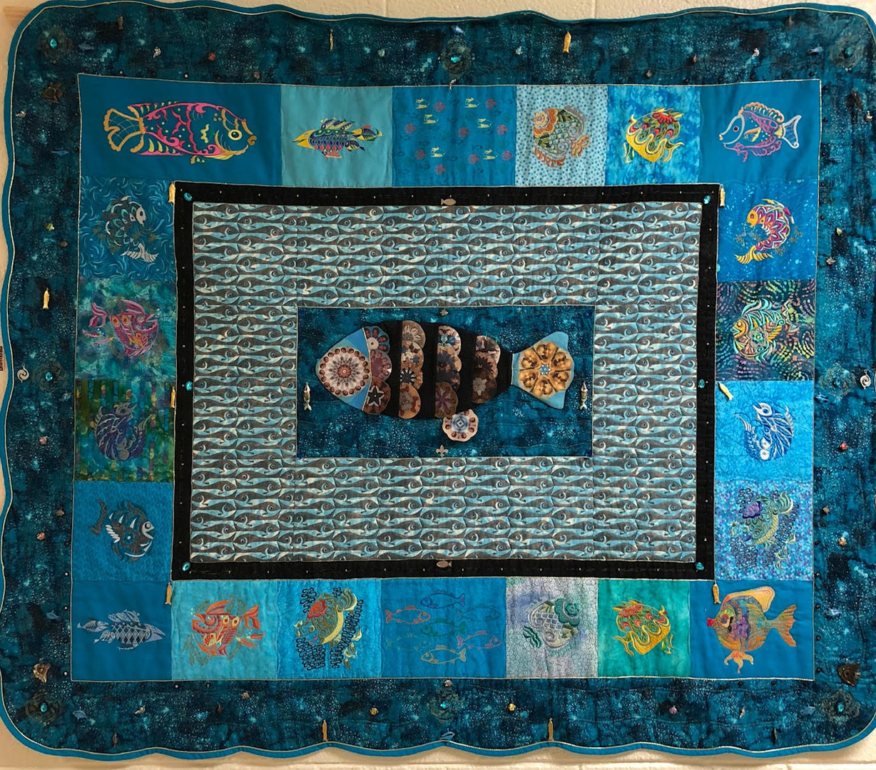 """Honorable Mention — """"Hey Fishy"""" by Carolyn White"""