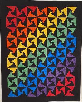 Tessalated Rainbow by Mary Maynard