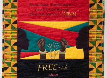 In Observance of Juneteenth by Carolyn White