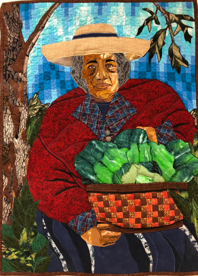 """2nd Place — """"Fruit of Her Labor"""" by Jan Hollins"""
