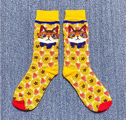 Purr Statement Socks